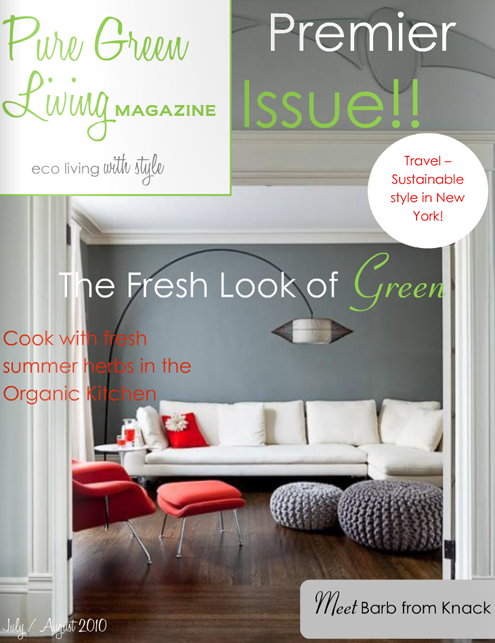 Check Out Pure Green Living Magazine! Thumbnail