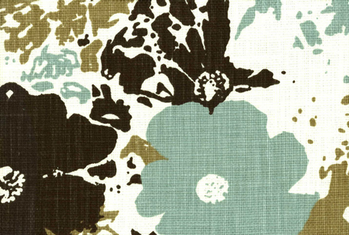 Pretty & Patterned: Organic Cotton Floral Upholstery Fabric Thumbnail