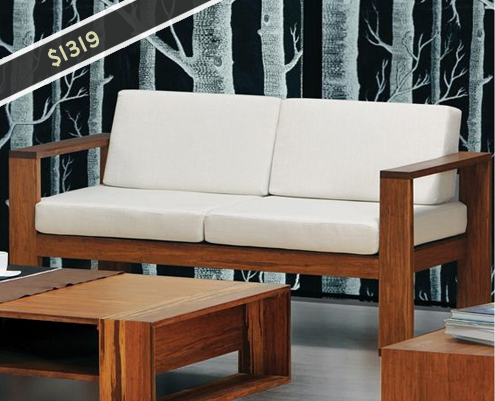 Greenington Magnolia Loveseat ... & More Affordable Eco-Friendly Sofas \u0026 Chairs