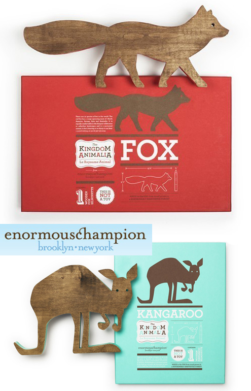 The Fabulous Mr. Fox…& Squirrel & Kangaroo: Cute Wooden Animals Thumbnail
