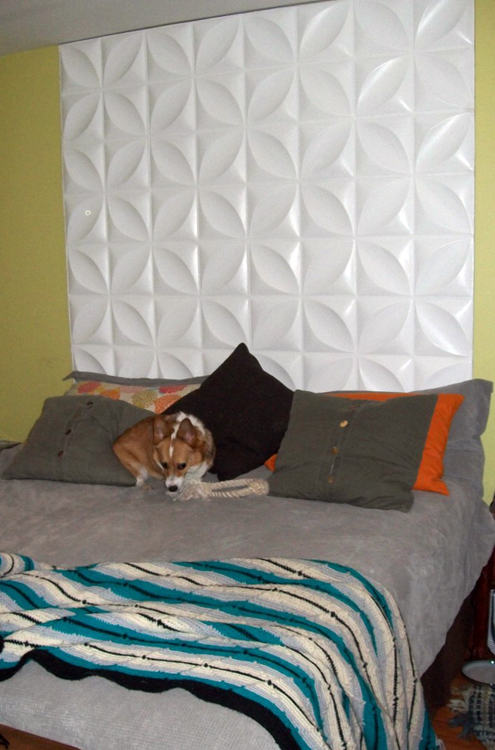 Another Eco-Friendly Headboard Made of Inhabit's Wall Flats Thumbnail