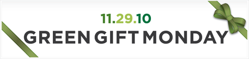 Green Coupons and Deals for Green Gift Monday / Cyber Monday Thumbnail