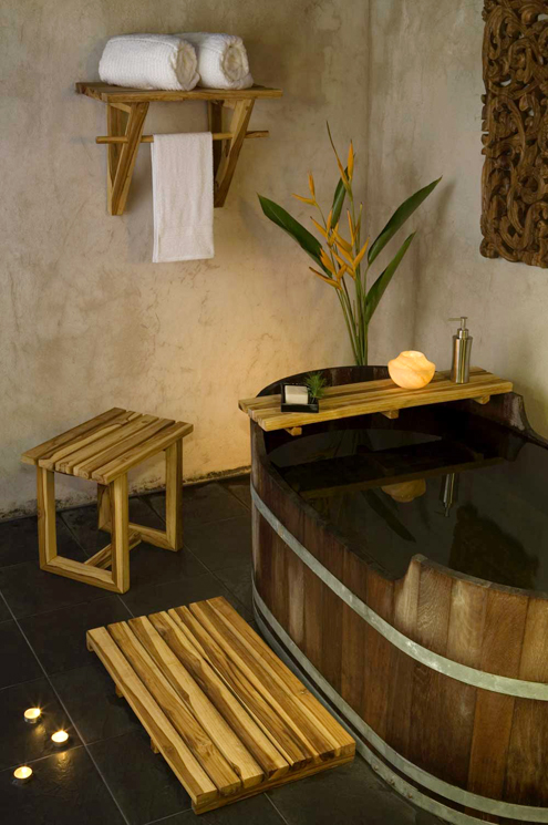 Spice Up Your Bathroom Spa Quality Teak Products From Verde Lifestyles