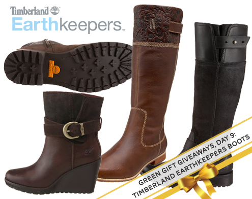 Green Gift Giveaways, Day 9: Timberland Earthkeepers Boots! Thumbnail