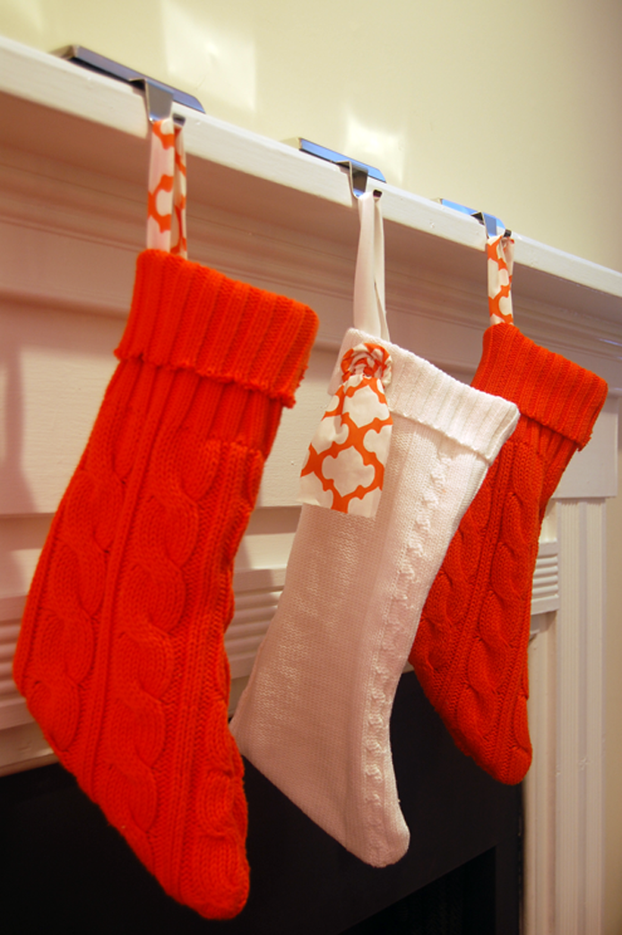 How To Make Eco Friendly Upcycled Sweater Stockings