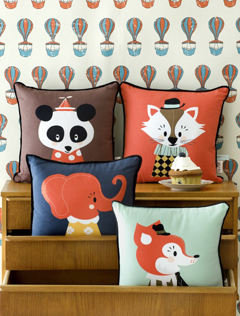 A Dose of Cute: Marionette Pillows & Prints by Ferm Living Thumbnail
