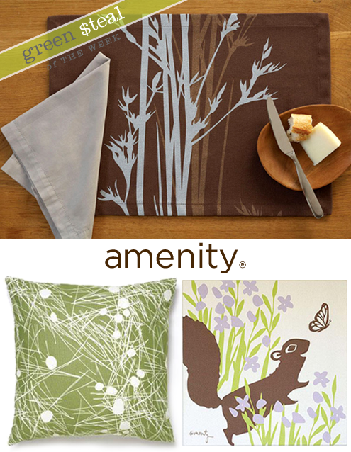 Green Steals of the Week: Amenity up to 75% off & Mod Green Pod Fabric Thumbnail
