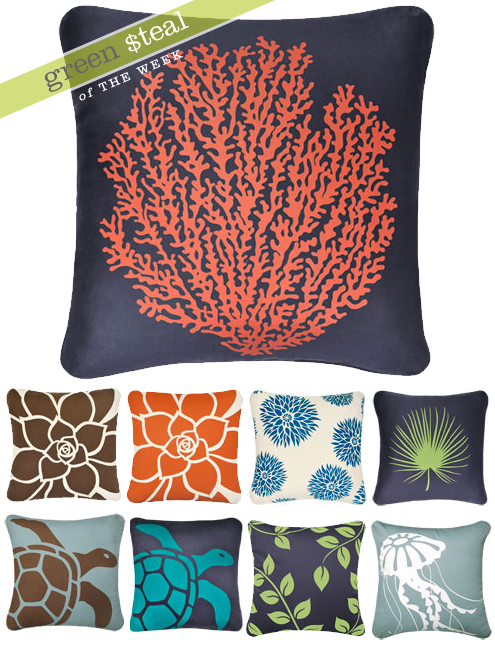 Green Steal: Wabisabi Green Pillows on Sale at Pure Citizen Thumbnail