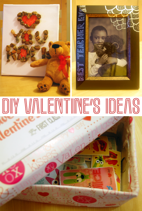 Post image for 3 Super Simple, Last-Minute, DIY Valentine's Gifts