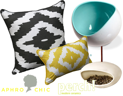 Green Steals of the Week: Perch! Designs & AphroChic Thumbnail