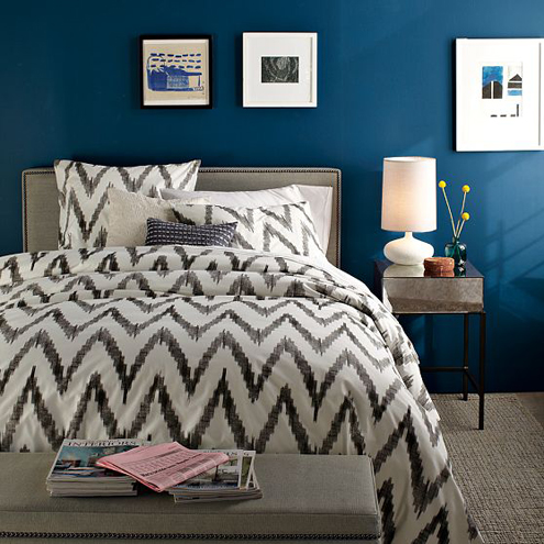 Time for New Bedding? Graphic Organic Options from West Elm Thumbnail