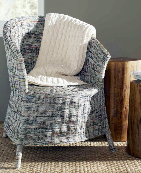 Green Steals of the Week: Newspaper Armchair, Shower Curtain & More Thumbnail