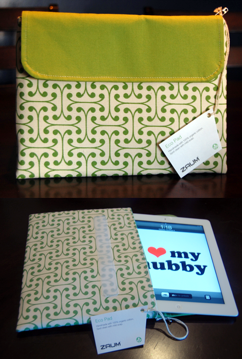 Green Gift Giveaway: Organic iPad Case from Zaum Thumbnail