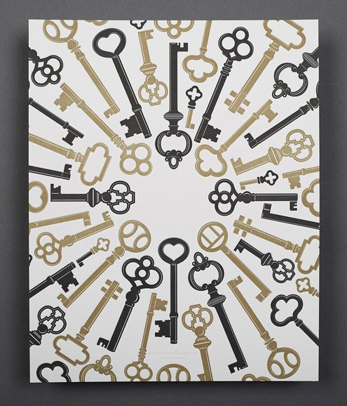 Green Gift Giveaway: Keys Print by Enormous Champion Thumbnail