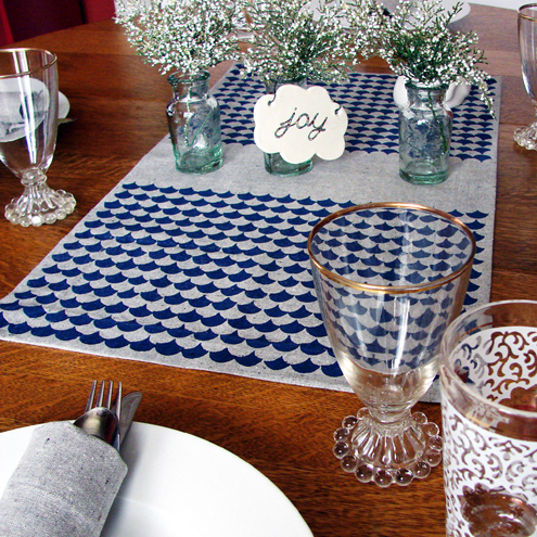 "Green Gift Giveaway: ""Chopped"" Table Runner from Home Sweet Thumbnail"