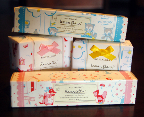 Green Gift Giveaway: New Nostalgia Organics Soaps & Lotions Thumbnail