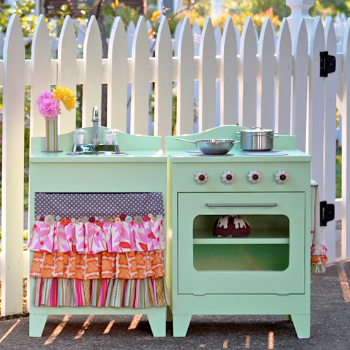 Diy Play Kitchen roundup of awesome diy play kitchens & more