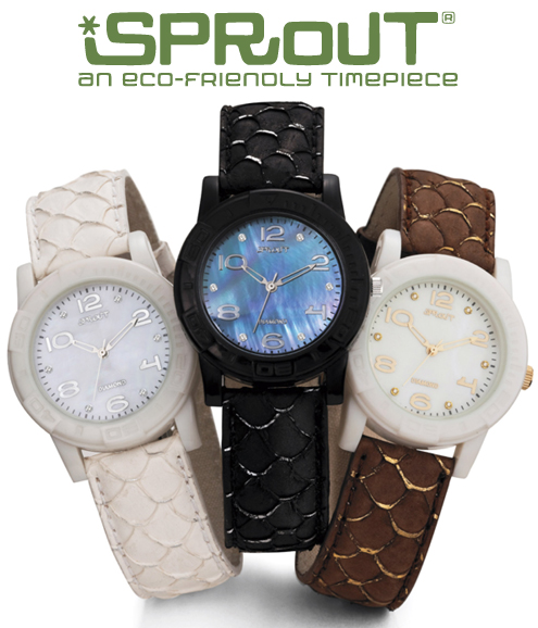 Green Gift Giveaway: THREE Sprout Eco-Friendly Watches! Thumbnail