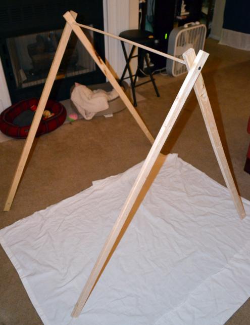 Make A Simple Diy Play Tent