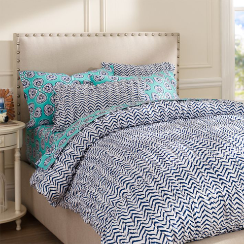 Great Ziggy Organic Bedding from PB Teen