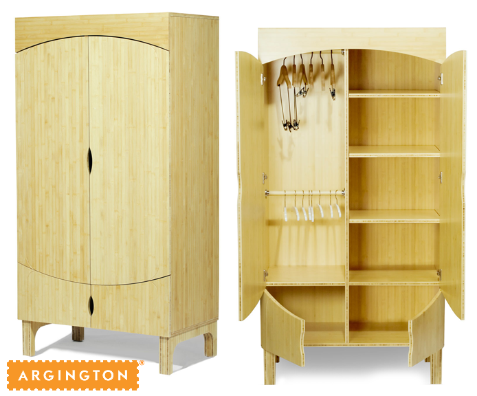 Green Steal: Argington Bam Bamboo Wardrobe 87% Off! Thumbnail