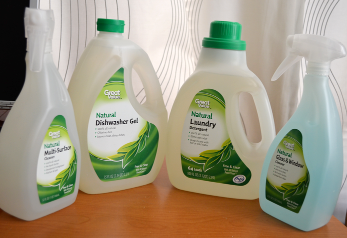 Review: Great Value Naturals Cleaning Products Thumbnail