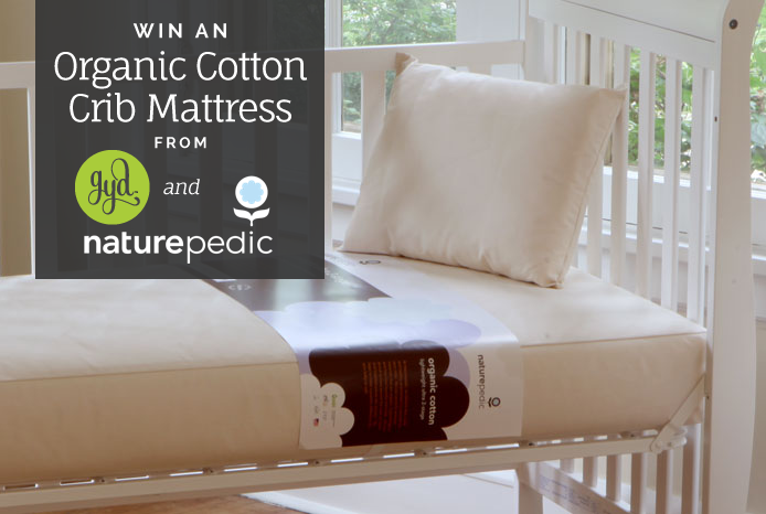 Green Sleep for Baby: Naturepedic Organic Crib Mattress (+Giveaway) Thumbnail