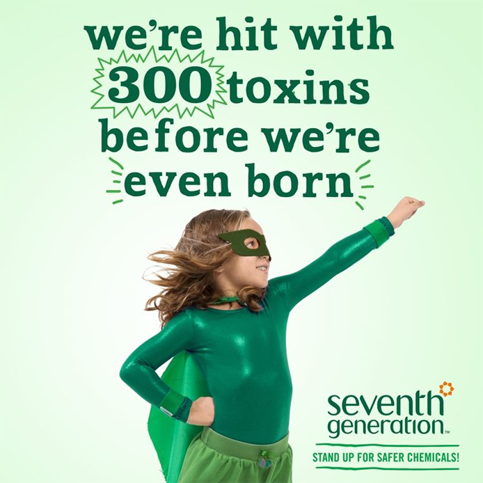 We're hit with 300 toxins before we're even born!