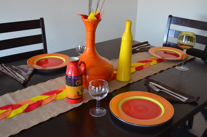 Make a Festive, DIY Table Runner for Thanksgiving Thumbnail
