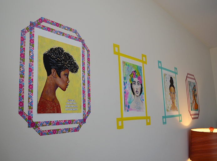 DIY Washi Tape Picture Frames Thumbnail