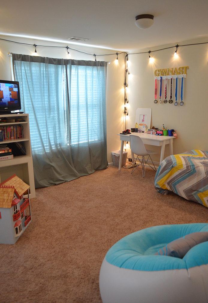 Tween Room Makeover With Enbrighten Caf 233 Lights