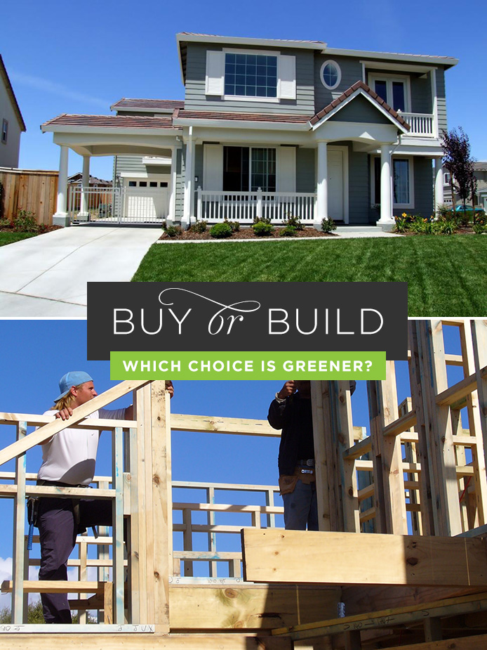 Buy a Home or Build a Home: Which is Greener? Thumbnail