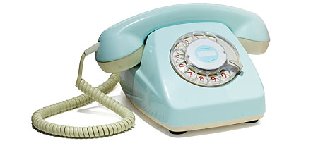Sixties Style Restored Phone