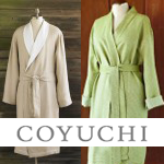 20% off robes and sleepwear from Coyuchi