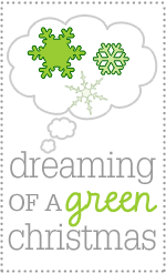 Dreaming of a Green Christmas series logo