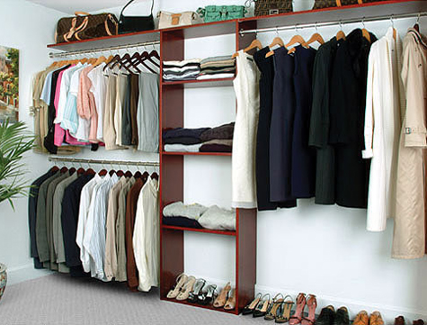 A Treat For The Neat Freak Eco Friendly Solid Wood Closet