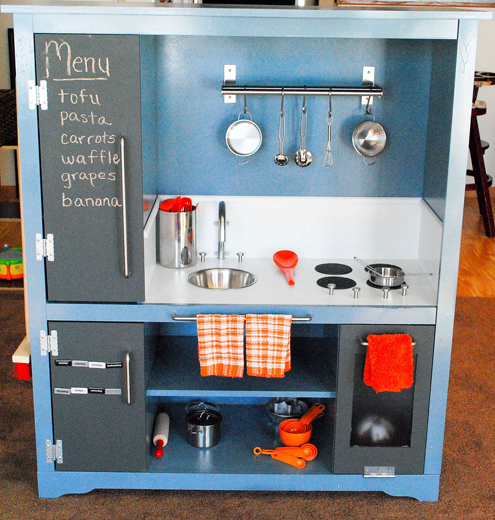 Roundup Of Awesome Diy Play Kitchens More
